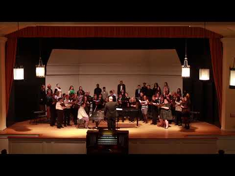 Il bianco e dolce cigno - Lycoming College Tour Choir - 2018 Spring Preview Concert