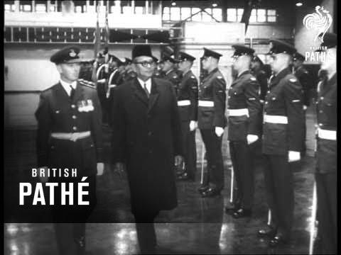 Malayan Premier In Canada (1960)