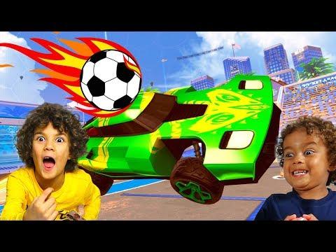 SFIDA TRA FRATELLI a Calcio con le Auto di Rocket League