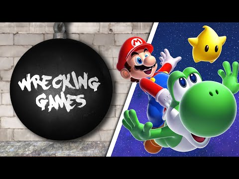 Wrecking Games 4 - Super Mario Galaxy 1 & 2