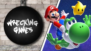 WRECKING GAMES #4 - Super Mario Galaxy 1 & 2