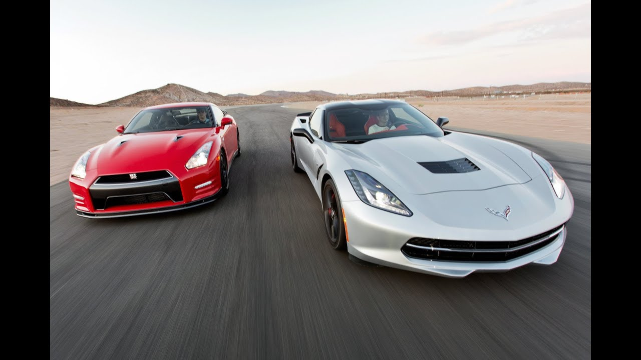2014 Chevy Corvette Stingray Vs 2014 Nissan Gt R Track