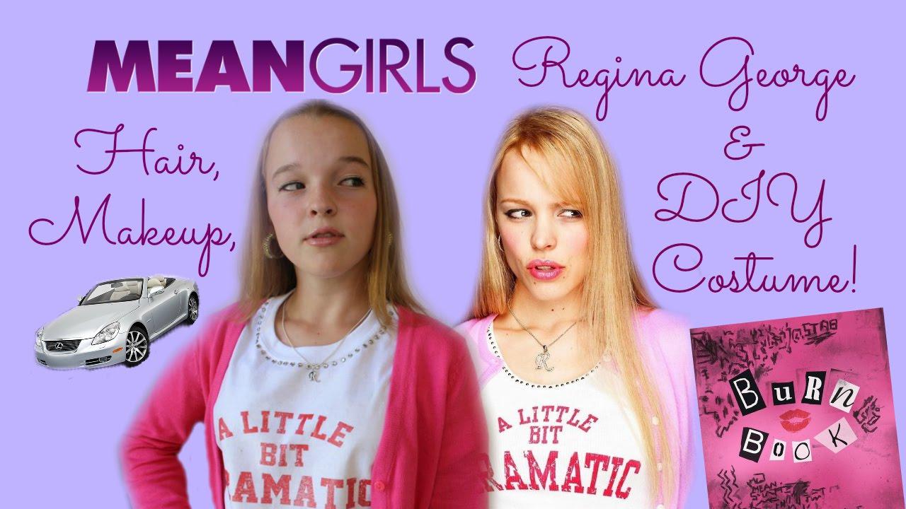 Mean Girls: Regina George Makeup, Hair, & DIY Halloween