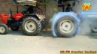 John deere vs new holland vs Swaraj 855 tractor tochan
