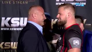 KSW 44: Pudzianowski i Bedorf face to face!