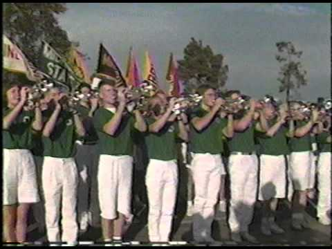 Spartan Marching Band Rose Bowl Trip Highlights 1988 part 1