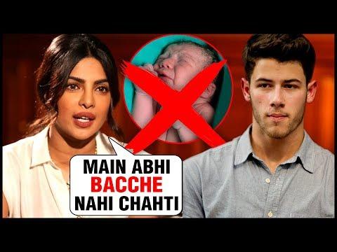 Priyanka Chopra DOES NOT Want to Have Kids | Is Nick Jonas Listening?