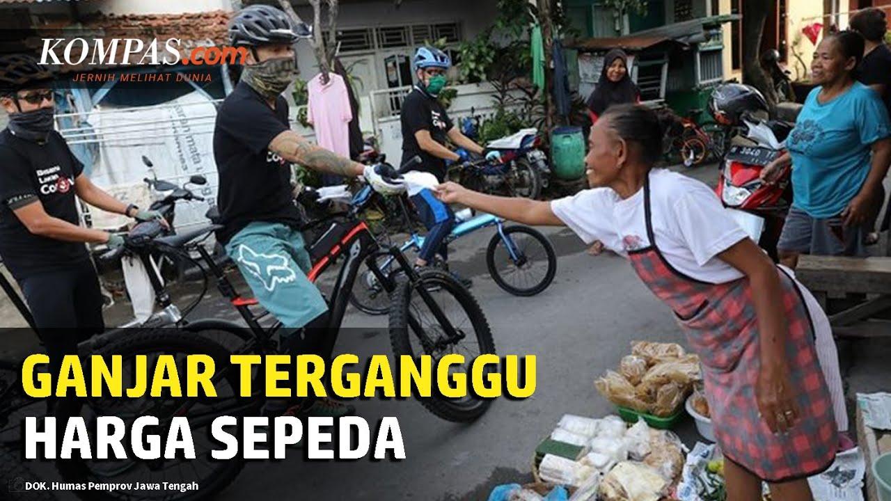 Gubernur Jawa Tengah Ganjar Pranowo Memberikan Tanggapan soal Harga Sepeda