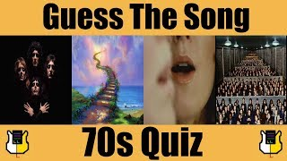 Guess The Song: 70s! | QUIZ