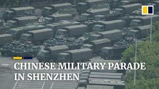 chinese-military-personnel-parade-in-shenzhen