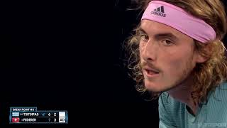 Roger Federer vs Stefanos Tsitsipas  - Australian Open 2019 Highlights HD