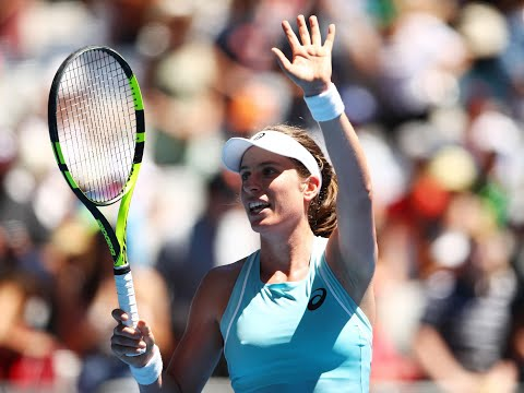 Australian Open 2018: Johanna Konta avoids first-round hiccup to sail past Madison Brengle in just