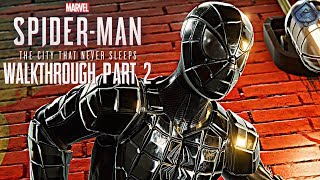 Spider-Man PS4 Hammerhead DLC Part 2 - New Spider-Armor DLC Suit!