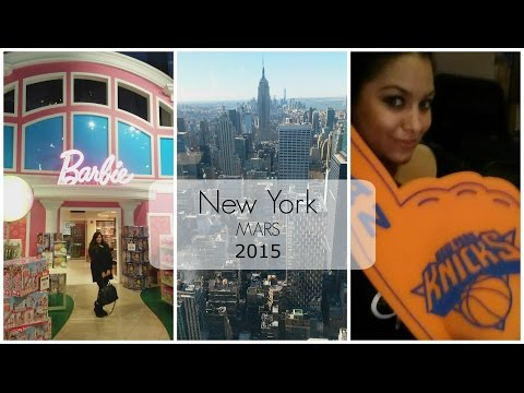 [VIDEO] New York ♡ Mars 2015
