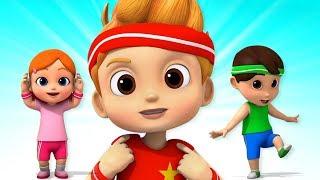 Head Shoulders Knees and Toes | Nursery Rhymes Songs For Babies | Children Rhyme