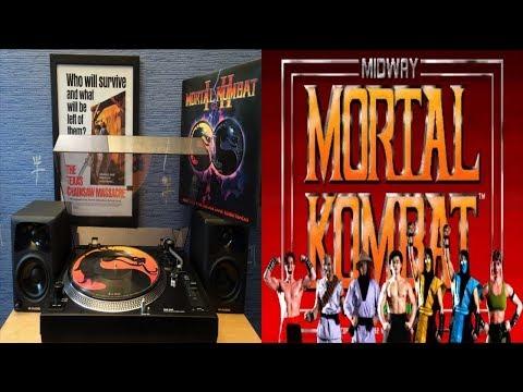 Mortal Kombat 1 & 2 - Music From The Arcade Game (1992 & 1993) [Full Vinyl] Dan Forden