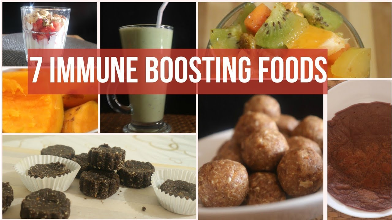 7 Immune Booster Food Recipes | 7 Healthy Snacks Recipes For Kids | Immune Boosting Foods For Kids