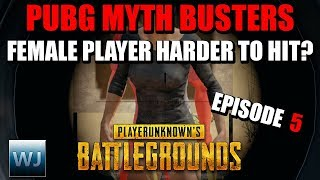 PUBG MYTH BUSTERS #5: Are female players harder to hit? Do airdrops predict the next circle?