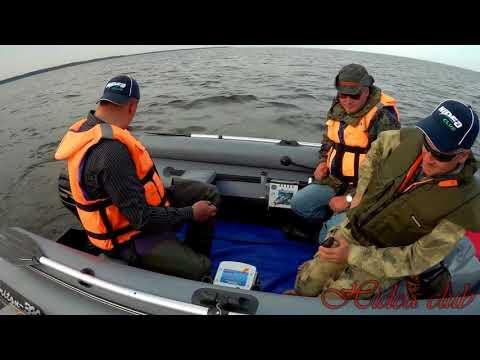 Тест лодки 'REEF' 390F Тритон + HIDEA 9.9