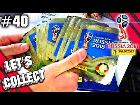 Panini FIFA WORLD CUP 2018 WM STICKER: LETS COLLECT #40 SPEZIAL