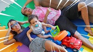 VIRAMOS BABÁS DE NOVO! - PARTE 2 - (ELE CRESCEU) - KIDS FUN