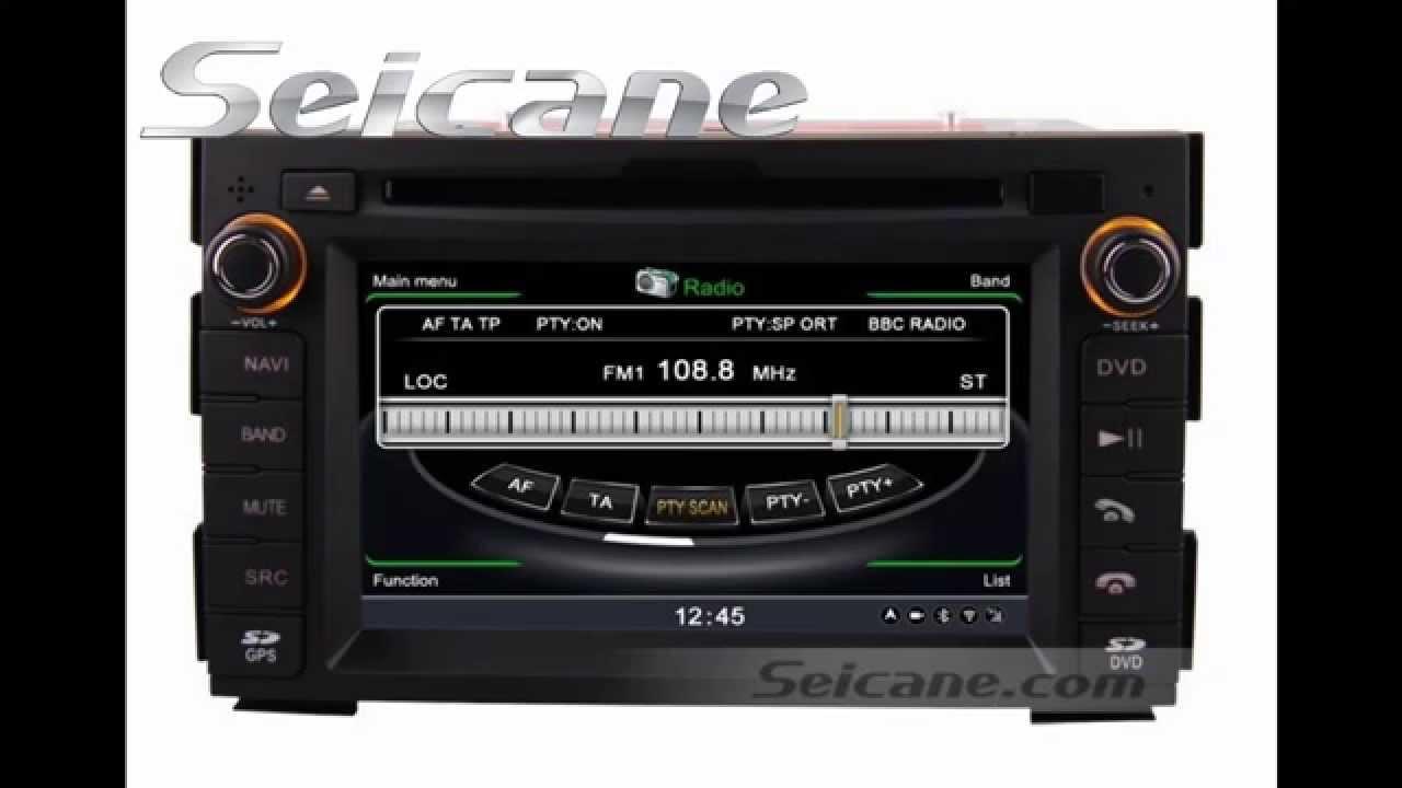 2009 2010 kia ceed stereo upgrade to dvd gps audio system with 3g rh youtube com Kia Ceed 2018 Kia Ceed 2018