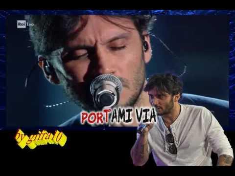 Fabrizio Moro - Portami via (karaoke - fair use)