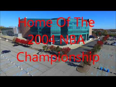 The Palace of Auburn Hills, home to the Detroit Pistons. Phantom 3 advanced drone remember to subscr