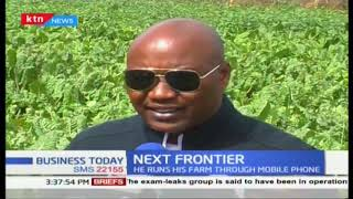 Next frontier: Farmers runs his farm through Mobile phone