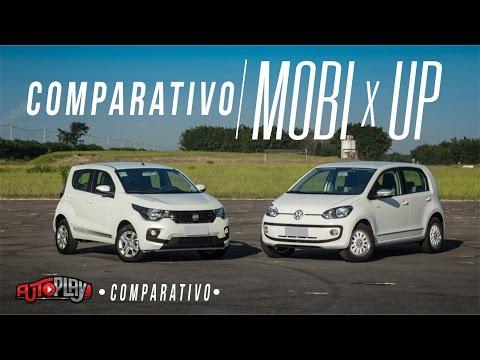 AutoPlay - COMPARATIVO FIAT MOBI X VW UP!