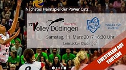 NLA Volleyball: TS Volley Düdingen - Volley Top Luzern