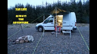 Van Life UK-Northumberland Wİld and Free Camping