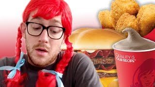 I Only Ate At Wendy's For A Week