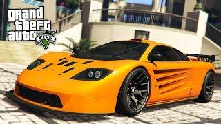 "NEW $2,080,760 ""MCLAREN F1"" PROGEN GP1 SUPERCAR SPENDING SPREE!! (GTA 5 Online DLC New Cars Update)"