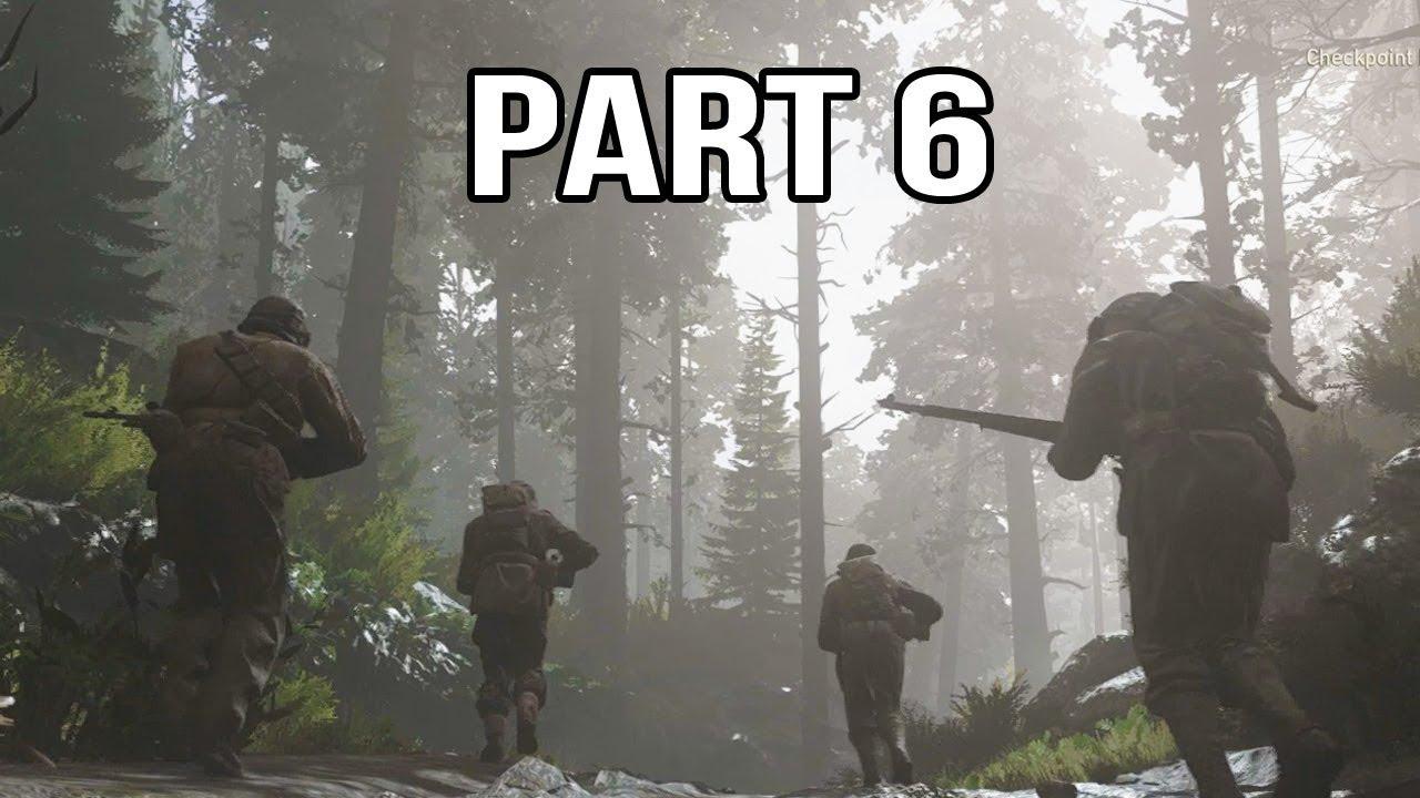 Call of Duty WW2 Gameplay Walkthrough Part 6 - Hurtgen Forest