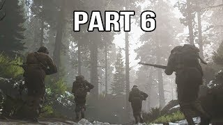 Call of Duty WW2 Gameplay Walkthrough Part 6 - Hurtgen Forest