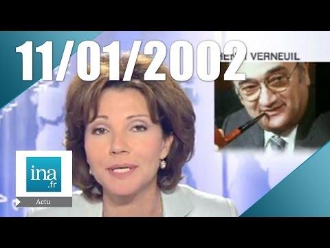 20h France 2 du 11 Janvier 2002 - Mort d'Henri Verneuil | Archive INA