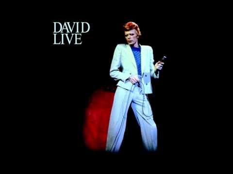 David Bowie - Suffragete City (Live) (Great quality)