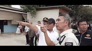Penertiban Aset Kemenkumham di Tangerang