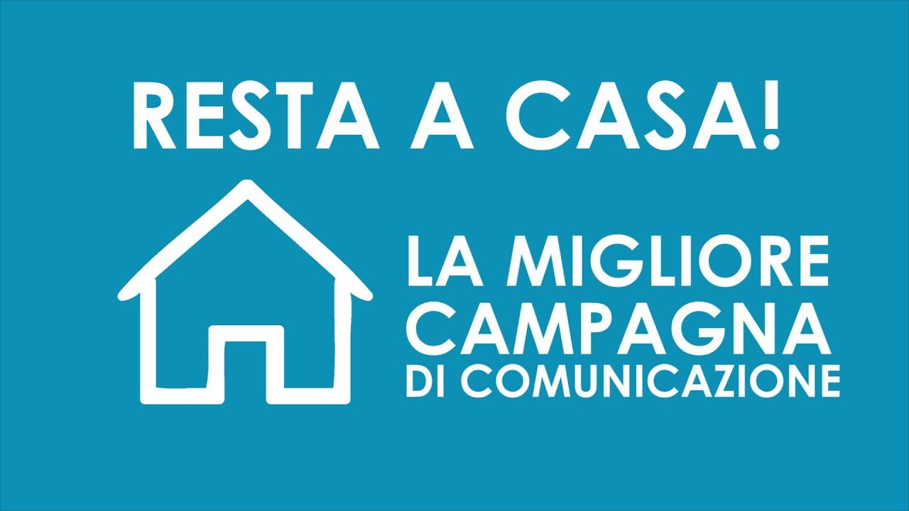 IO RESTO A CASA - La migliore campagna di comunicazione