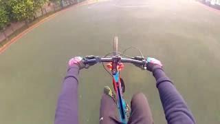 Как делать вилли на велосипеде ?/ How to do a Wheelie on bike ?