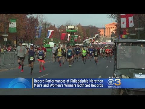 Records-Breaking Performances At Philadelphia Marathon