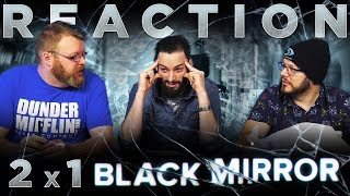 """Black Mirror 2x1 REACTION!! """"Be Right Back"""""""