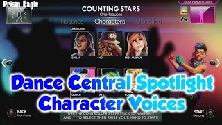 Dance Central Spotlight - Character Voices