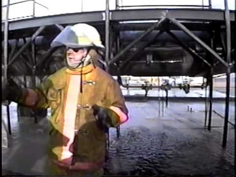 Aircraft fire fighting school
