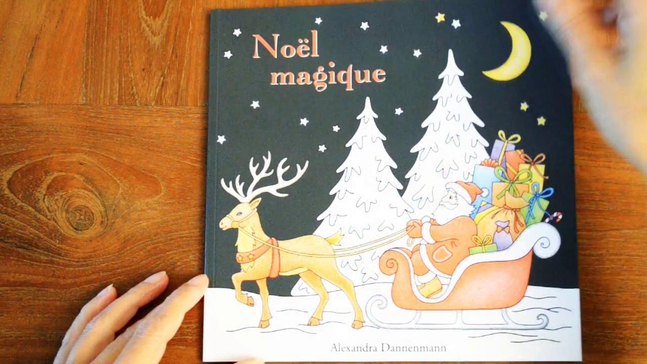 Noël Magique Livre De Coloriage Anti Stress Avec Un Fond Noir By