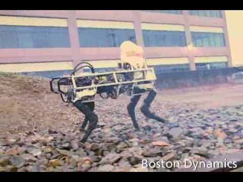 Boston Dynamics BigDog Robot – the Army mule