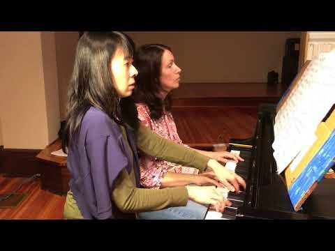 Brandenburg Concerto No. 5 - #BrandenburgDuets - Eleonor Bindman and Jenny Lin
