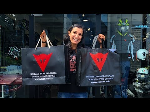 Riding Gear Shopping - Dainese Store Bangalore