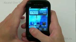 мобильный телефон Alcatel One Touch Tribe 720 ремонт
